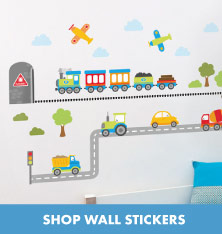 Shop Wall Stickers.