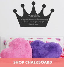 Shop Chalkboard Wall Stickers.